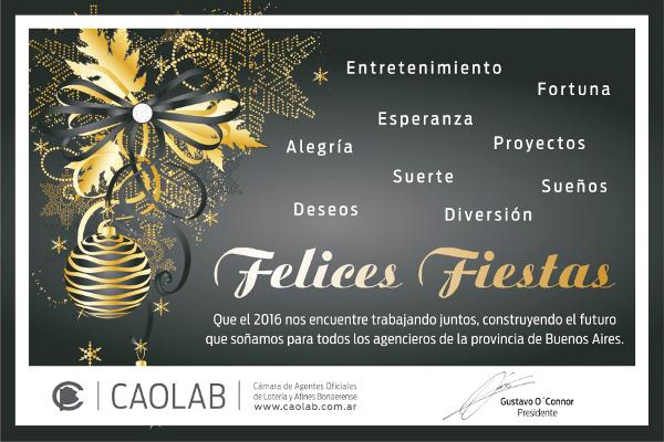 CAOLAB Felices Fiestas 2015