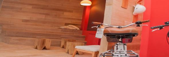 Diseño de espacios interiores – Design & Art Center – Patagonia Flooring – Angélica Campi